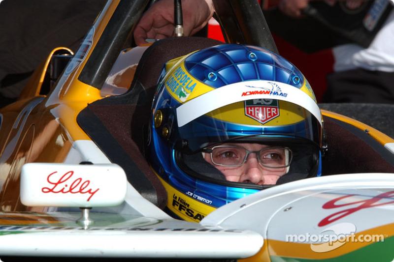 CHAMPCAR/CART: Rookie Bourdais fastest at Laguna test 2003-01-25
