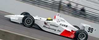 IRL: Brack tunes up on Carb Day at Indy