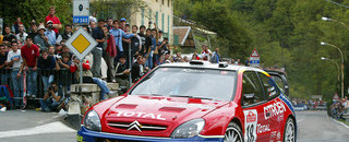 Loeb stays on track to win Rallye Sanremo