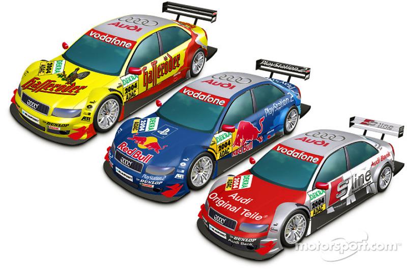 Works DTM entry for Audi in 2004