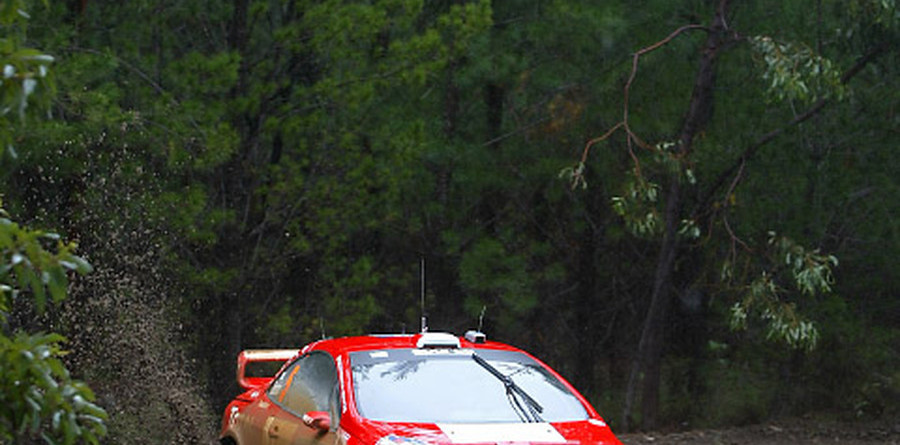 Gronholm on top in Rally Australia