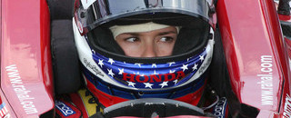 IRL: Danica Patrick poised for Indy 500 win