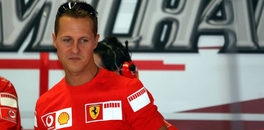 Michael Schumacher announces his retirement