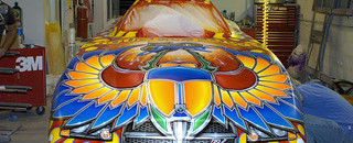 Banshie Studios: The art of drag racing