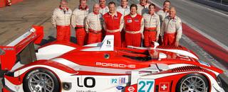 Horag Porsche RS Spyder completes first laps