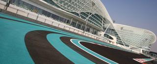 Formula One races into the desert sunset of Abu Dhabi