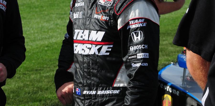 Briscoe earns Texas pole, Team Penske six for six