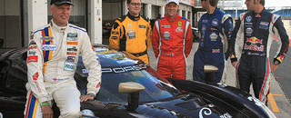 High-speed Daytona Prototype runs in UK