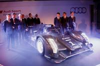 Audi unveils R18 prototype, plans DTM future car