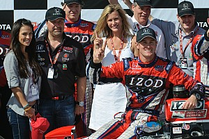 Andretti Autosport unveils DHL sponsor entry
