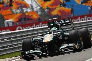 Turkish GP Team Lotus Race Report
