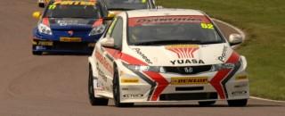 BTCC Wraps Up Oulton Park Race Action