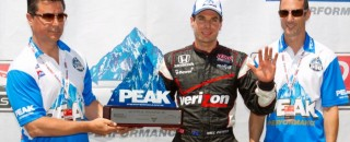 Will Power Pulls Out Toronto IndyCar Pole