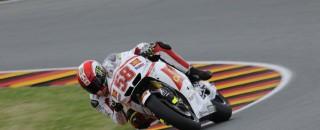 Gresini Racing's MotoGP Friday German GP Report