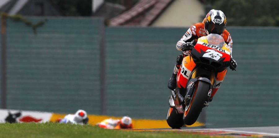 Repsol Honda Takes MotoGP Double Podium For German GP