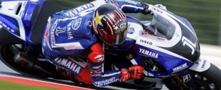 Lorenzo grabs Friday fast time from Stoner at Misano