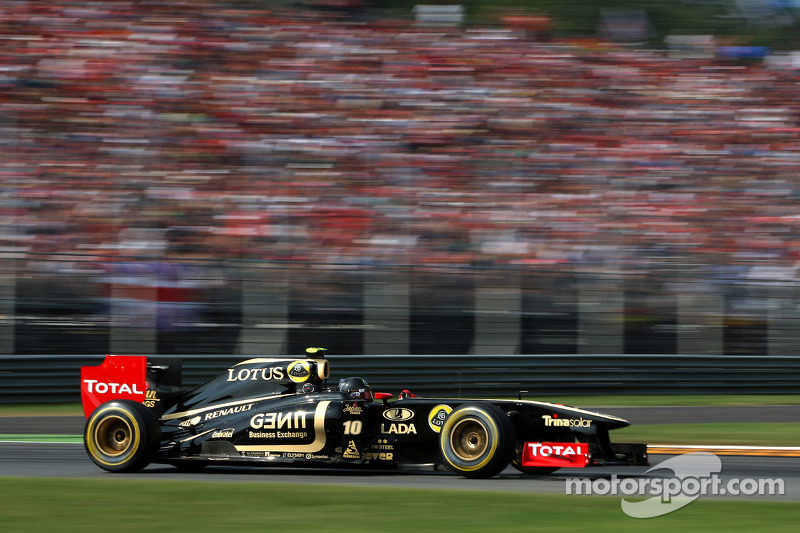 Lotus Renault Italian GP - Monza qualifying report
