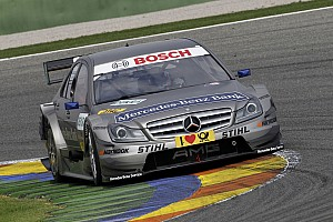 Renger van der Zande and David Coulthard on second row of grid for first time