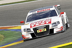 Title and 1-2-3-4-5-6 result for Audi at Valencia