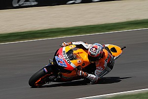 Stoner tops Friday practice at Australian home GP