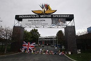 Indianapolis Dan Wheldon memorial schedule