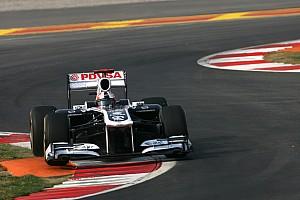 Williams Abu Dhabi GP Friday practice report