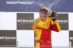 Leimer dominates Feature race at Abu Dhabi on Yas Marina Circuit
