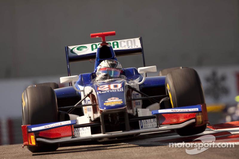 Trident Racing Abu Dhabi race 2 report