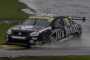 Rick Kelly rain dances to Sandown race 1 victory