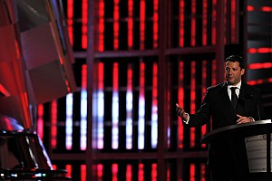 Tony Stewart claims his rewards at Champion's banquet