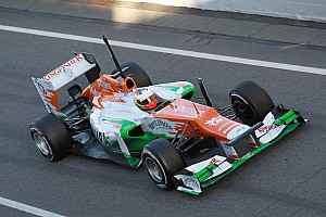 Force India Barcelona test II -  Day 3 report