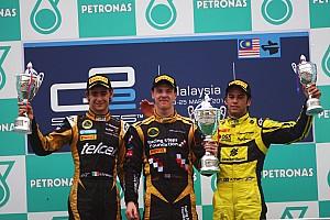 Series Sepang race 2 report