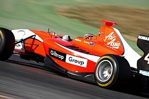 Evans top at Silverstone pre-season test