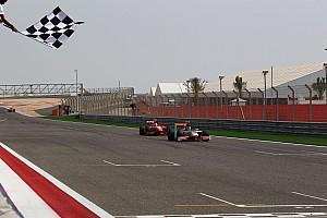 Rookie Dillmann sprints to maiden victory in Sakhir's final race
