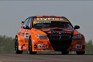 Michelisz in his BMW claims his maiden pole in Slovakia