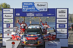 Citroen Rally Argentina final summary