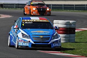 Muller and Michelisz split the Hungaroring races