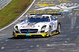 BMW loses the lead as N24 passes half distance