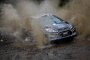 M-Sport Acropolis Rally Thursday report