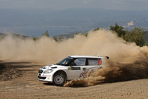 Volkswagen driver Ogier claims seventh place in the Acropolis Rally