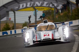 McNish takes Audi e-Tron to top the timesheets on Le Mans test day
