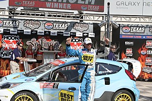 Marcus Gronholm wins Rallycross round 2 at Texas