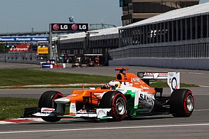 Force India continued to show strong form in Monteal