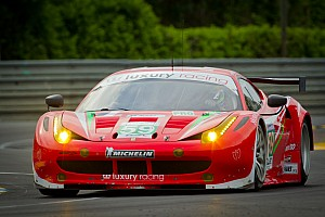 Luxury Racing puts their Ferrari F458 Italia on GT pole