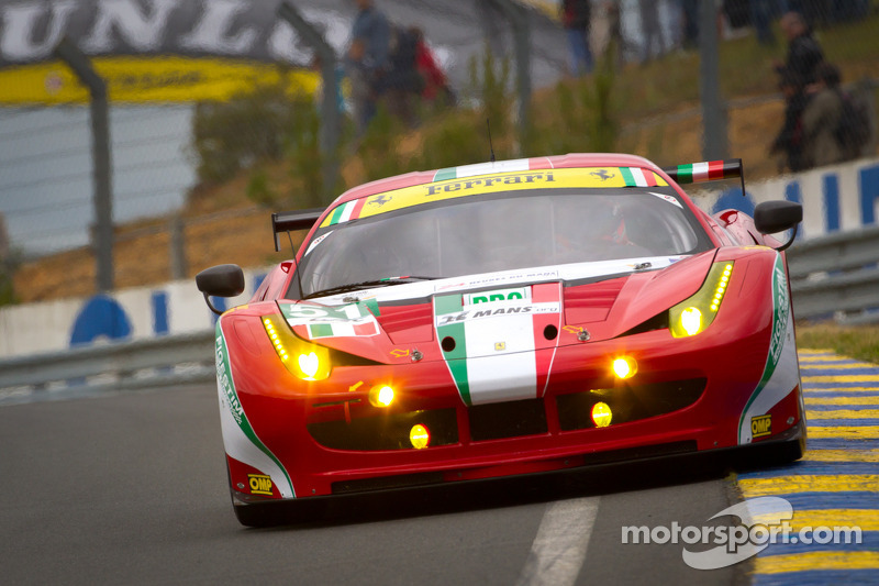 GTE stories of the race so far