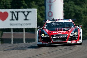 Stippler takes APR Audi R8 to GT front row at Watkins Glen