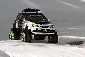 Ken Block's Trax STI Car - Video