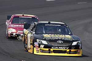 Toyota teams have a hard day at Loudon 200 race