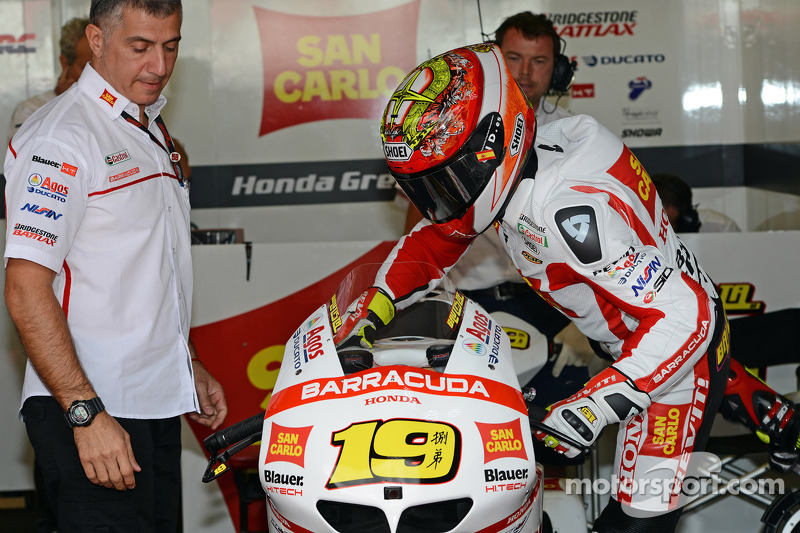 A weekend to forget for San Carlo Honda Gresini