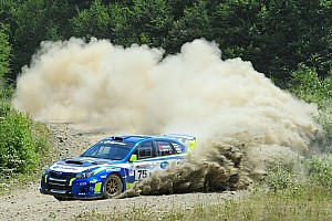 Subaru driver David Higgins seals Rally America title